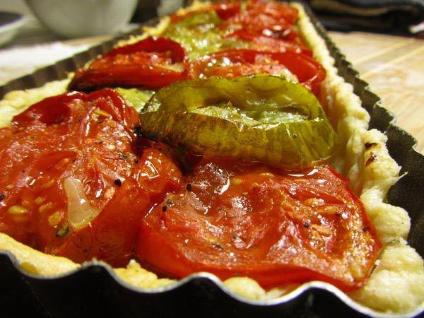 The Tomato Tart's Tomato Tart