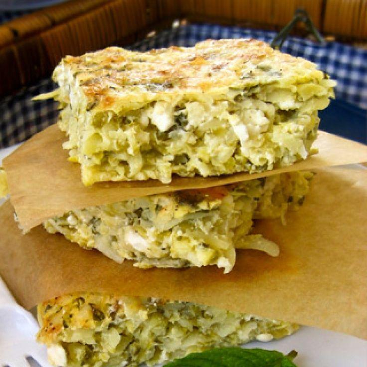 Κολοκυθόπιτα χωρίς φύλλο - gourmed.gr