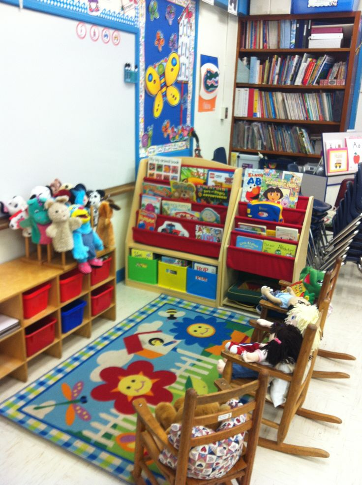 Classroom Ideas Pre K ~ Prek classroom book center rooms pinterest