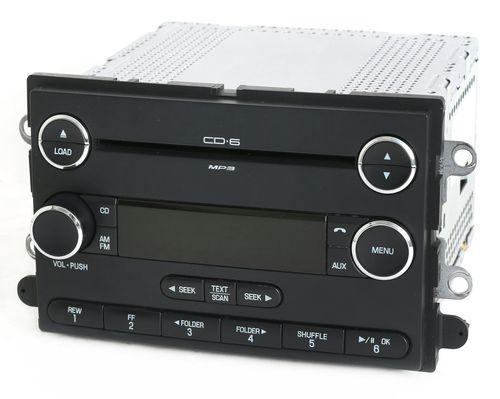 Mercury Sable 08-09 Ford Taurus AM FM 6 Disc CD Radio Chrome Part 8G1T-18C815-GB