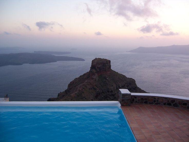 Imerovigli, Santorini, Cyclades, Greece.