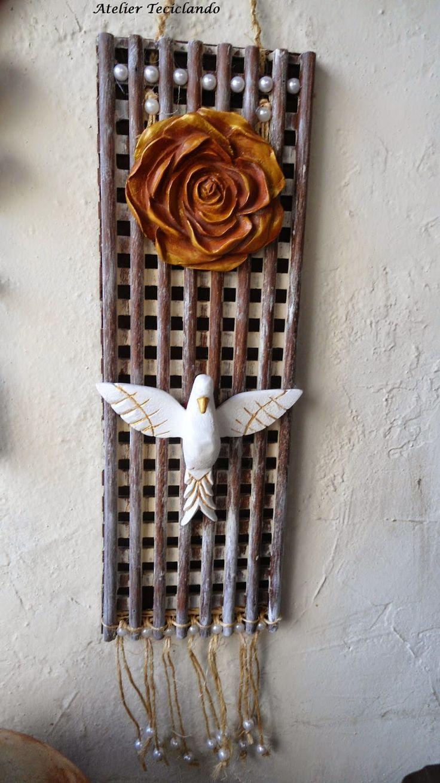 Teciclando Artes em Tecidos: Arte do Divino