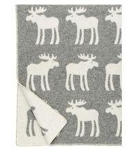 HIRVI - MOOSE Wool Blanket | Baby blanket - Nordic Interior Design