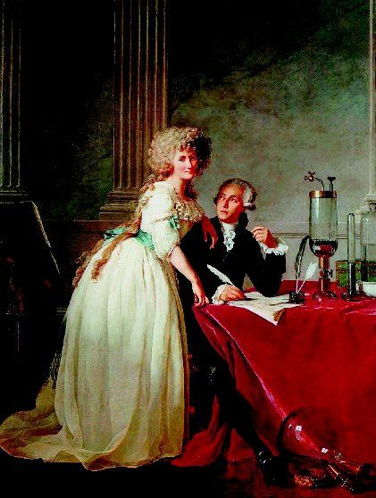 """Antoine-Laurent de Lavoisier was the founder of modern chemistry, who swept away alchemy by carrying out quantitative chemical experiments. The French revolution eventually led to Lavoisier's death at the guillotine. """"Only a moment was required to cut off that head,"""" said the great mathematician Joseph Lagrange, """"and perhaps a century will not be sufficient to produce another like it."""""""