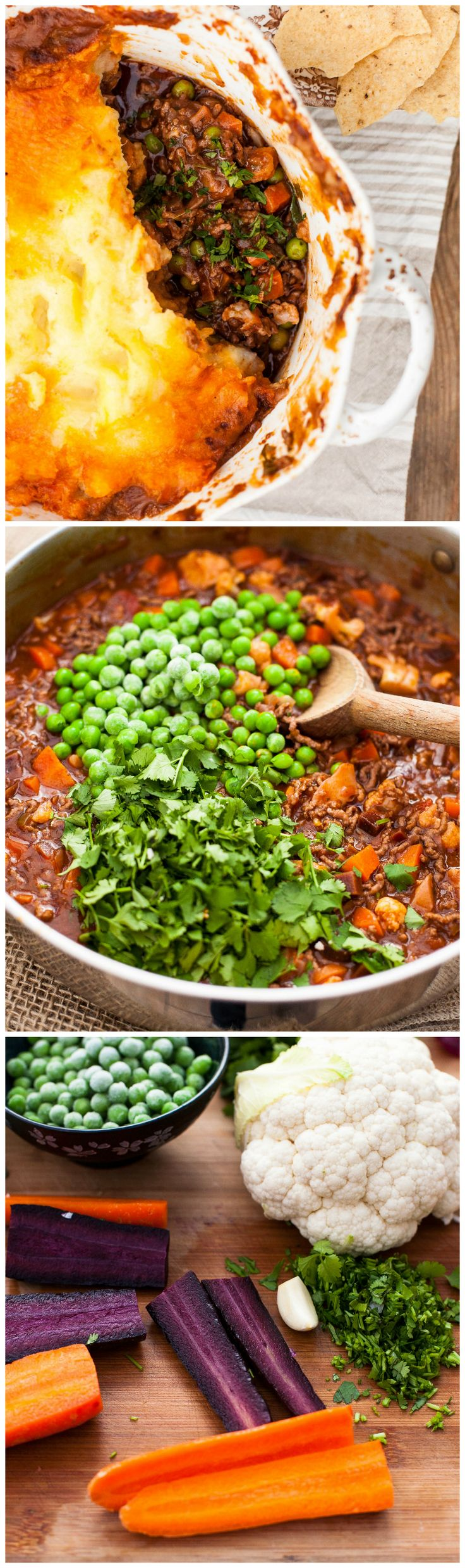 Shepherd's Pie meets Indian curry! Wake up your taste buds with this spiced Shepherd's Pie.