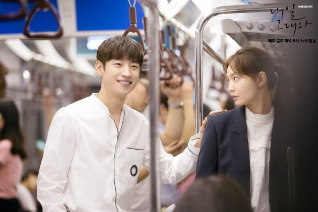 """Lee Je Hoon Must Convince Shin Min Ah To Fall In Love In Latest """"Tomorrow With You"""" Episode   Soompi"""