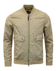 Forrester PRETTY GREEN Mod Paisley Bomber Jacket in sand: http://www.atomretro.com/24655 #prettygreen #forrester #bomberjacket #jacket #paisleyjacket #paisley #psychedelic #atomretro #mensfashion #mensstyle
