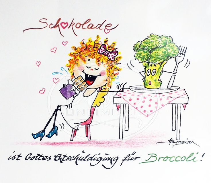 Heidemarie Brosien - SCHOKOLADE BROCCOLI - Passe-Partout-Bild