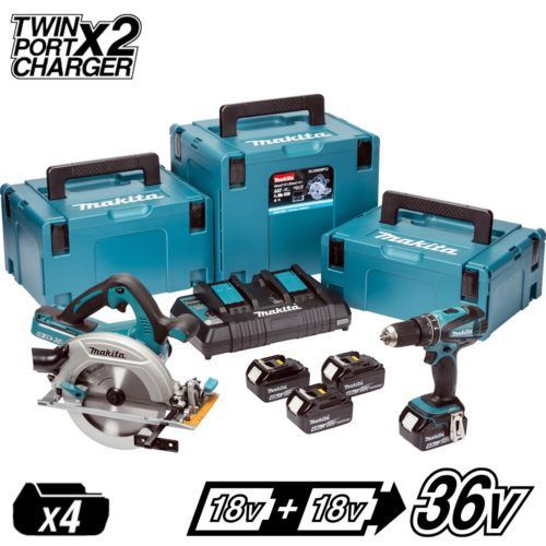 MAKITA DLX2084PMJ 18V LXT 2 PIECE KIT (4Ah), 500x500, power tools, power tools uk, power tool store, cheapest place for power tools