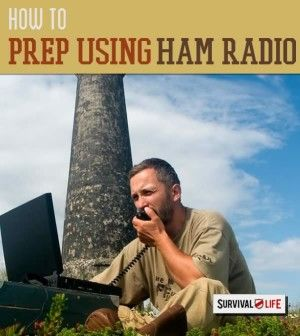 Awesome ideas and tips on how to use ham radio for communication plays a vital role in man's survival. | http://survivallife.com/2014/12/30/prepping-with-ham-radio/