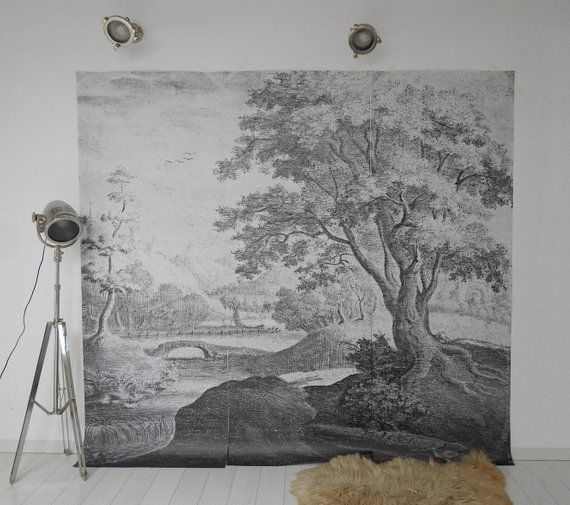 Nature Scenic Wallpaper Black And White Wall Mural 5 Scenic Wallpaper Removable Wall Murals Mural