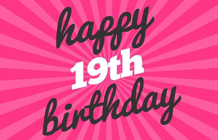 happy 19th birthday wishes httpwwwtopbirthdaywishes