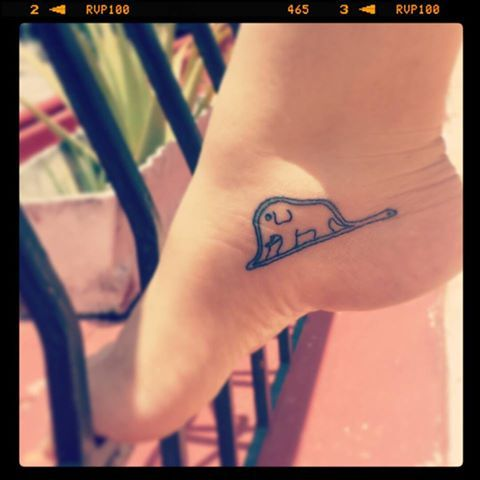 """tattoo #tattoo """"Here is my secret. It is very simple: It is only with the heart that one can see rightly; what is essential is invisible to the eye."""" -Antoine de Saint-Exupéry, The Little Prince (Le Petit Prince, El Principito)"""