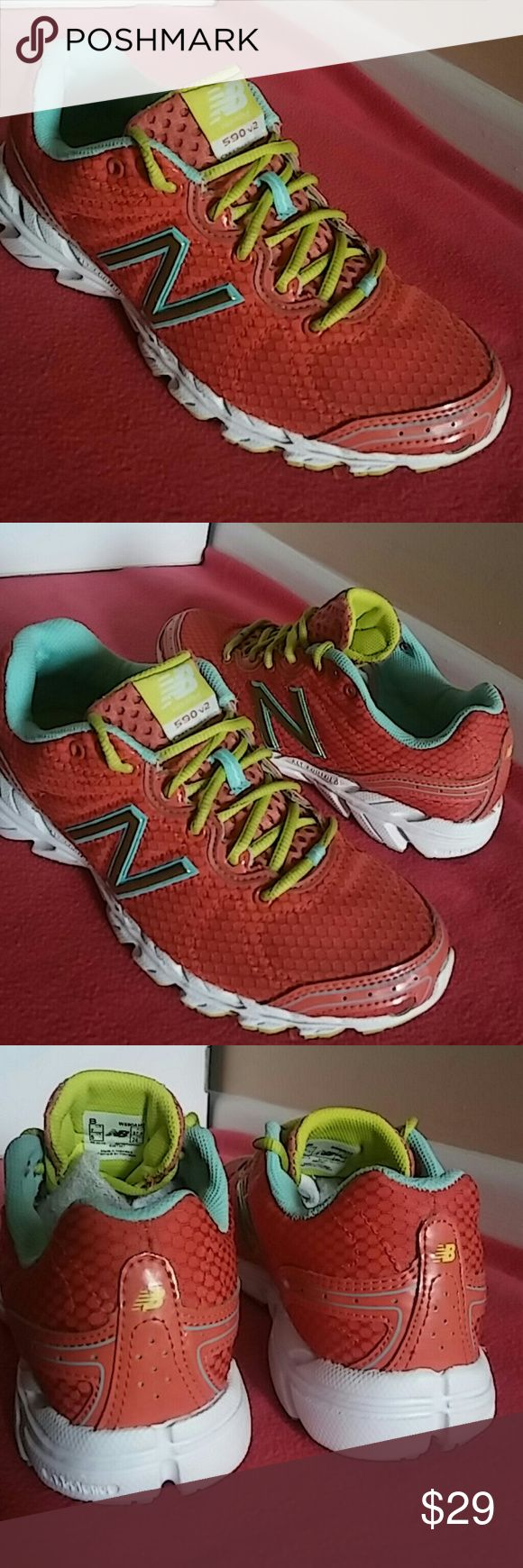 New Balance NB. RUNNING 590 V2 Worn only six times and in great shape. Its flawless. NB Shoes Sneakers