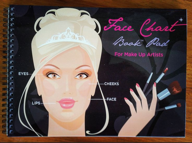 """Practise makeup looks with the perfect tool, Makeup Face Charts By Elanoir! Get it on Amazon.co or ebay,com search for   """"face charts""""  !!"""