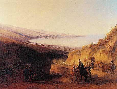 """""""Vista de la  Bahia"""", de Juan Mauricio Rugendas, 1802 1858"""