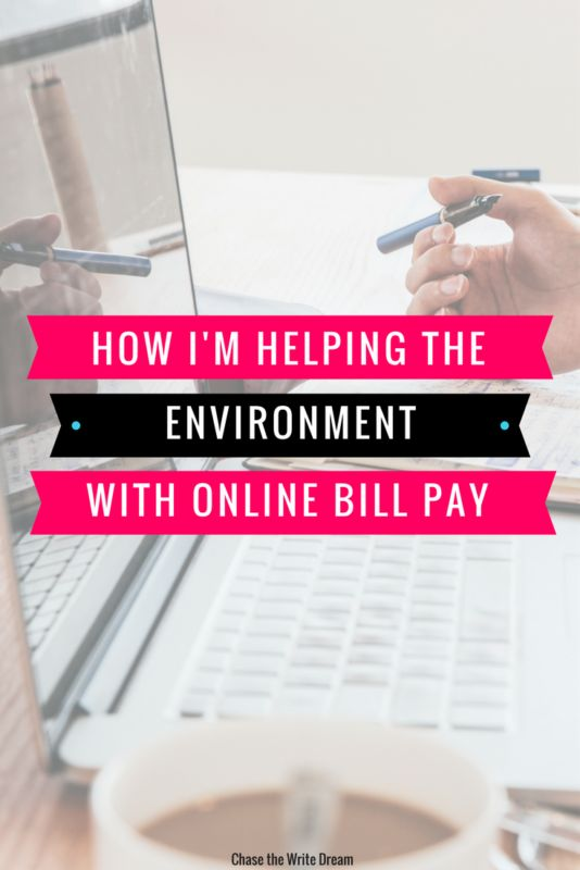 Reduce your environmental impact by making small changes at home, including opting for online bills instead of paper ones! Click through to see other ways you can help the environment today! #ad