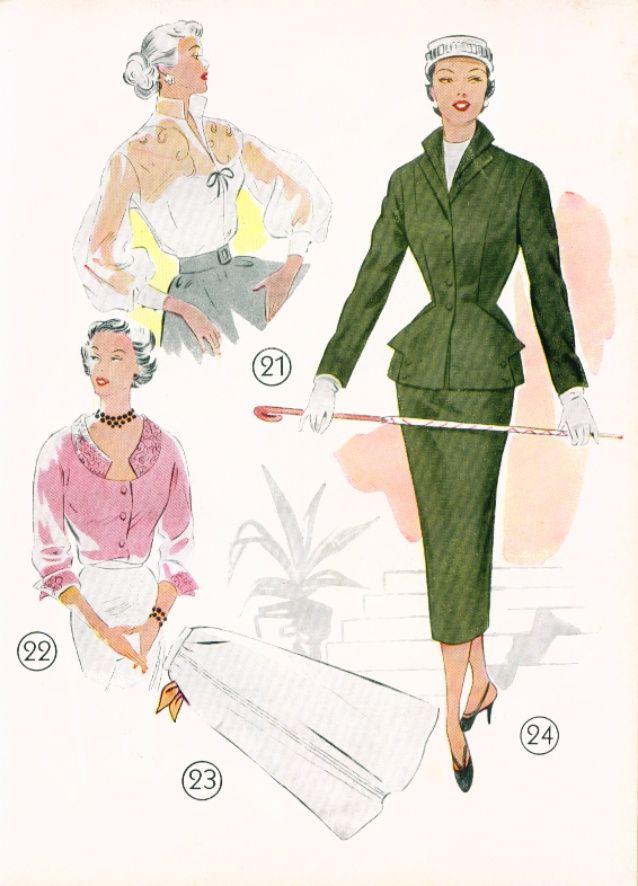 1955-lutterloh-book-sewing-patterns-32-638.jpg (638×886)