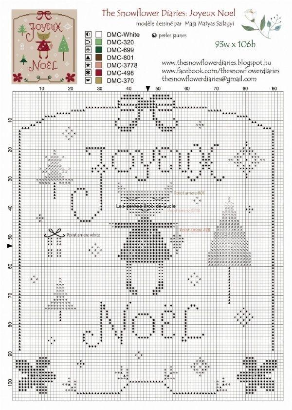 The Snowflower Diaries - Joyeux noël GRI-NOE-JOYEUXNOELFREE