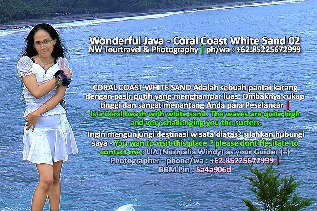 Nurmalia Windy: Wonderful Java - Coral Coast White Sand 02 - NW To...