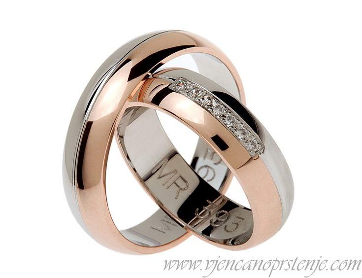 Vjencanoprstenje.com   Vjenčano prstenje MR393