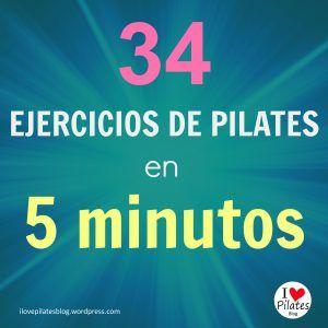 Hoy el post va de vídeos de pilates clásico, los 34 ejercicios para suelo que inventó Joseph Pilates tal cual. Dejo aquí 4 vídeos que puedes ver en menos de 5 minutos.