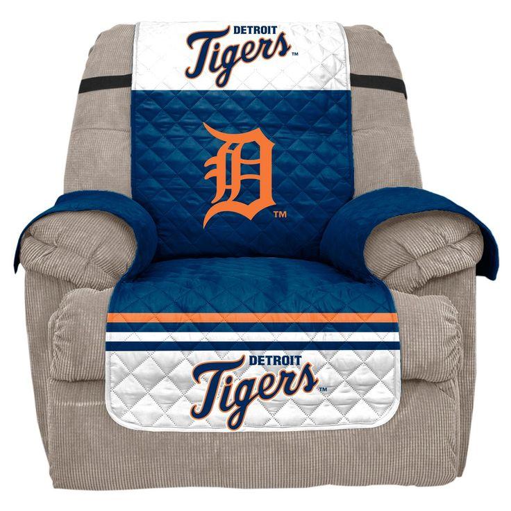 MLB Detroit Tigers Recliner Slipcover, Durable