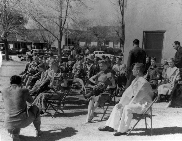 1953. Dummies for nuclear test. Las Vegas