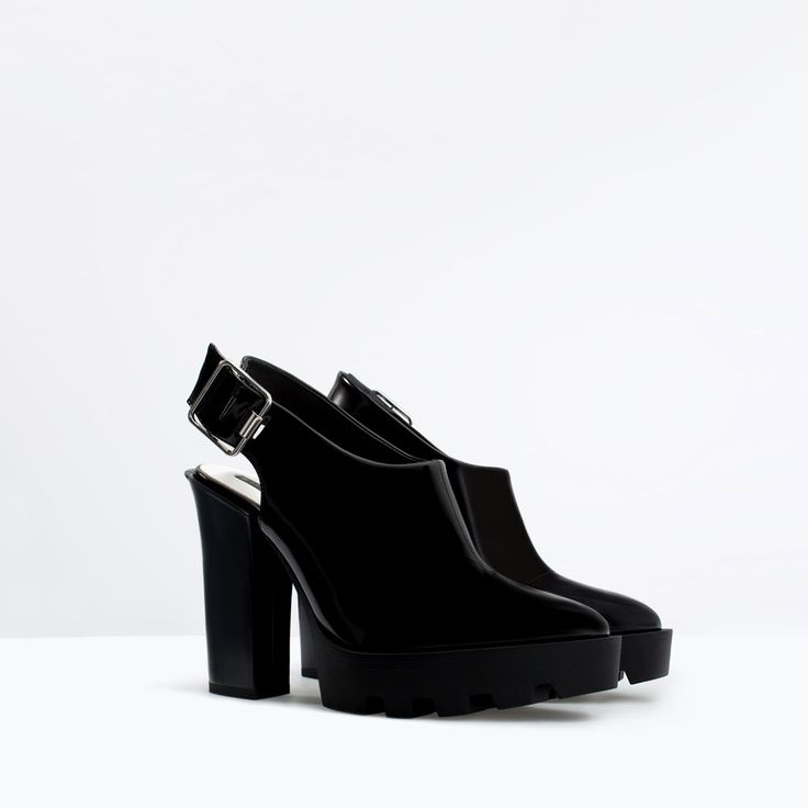 ZARA - TRF - HIGH HEEL TRACK SOLE MULES