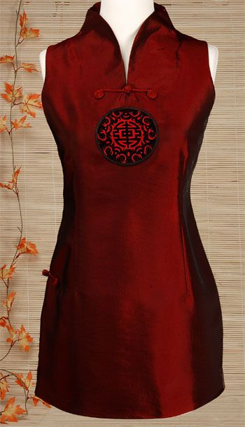 Tunic Inspired Qipao Top | Chinese Apparel | Women | Shirts & Jackets