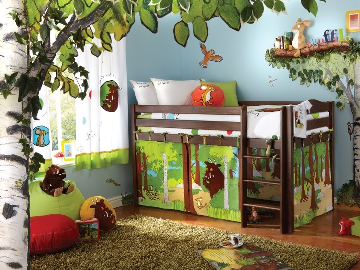Gruffalo Bedroom Very Cool You Could Add A Kid S Hammock