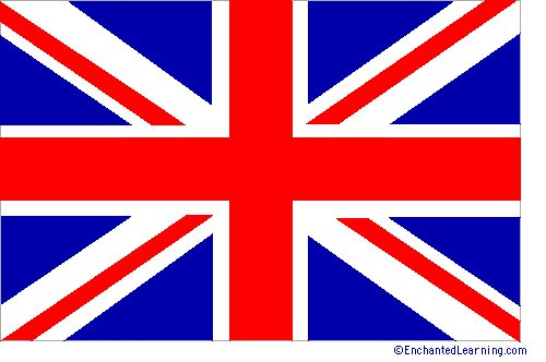 Explanation of the parts of Britain's Flag--Mr Gumpy's Motor Car