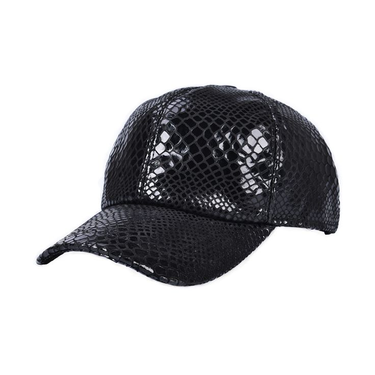 2017 New Fashion Crocodile striae style baseball cap 100% sheep leather snapback hats for men women fashionable hip hop cap