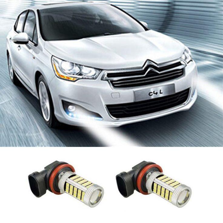 $10.50 (Buy here: https://alitems.com/g/1e8d114494ebda23ff8b16525dc3e8/?i=5&ulp=https%3A%2F%2Fwww.aliexpress.com%2Fitem%2F2pcs-H11-High-Power-LED-Light-2835-66SMD-Fog-Light-Driving-DRL-Car-Light-for-citroen%2F32748433463.html ) 2pcs H11 High Power LED Light 2835 66SMD Fog Light Driving DRL Car Light for citroen c2 c4 c4l c5 triumph accessories for just $10.50