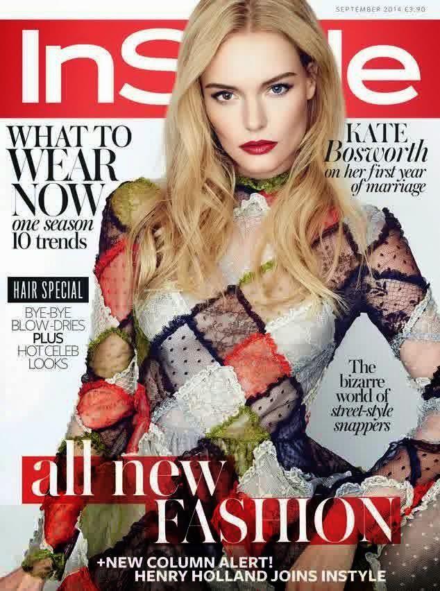 Kate Bosworth - Instyle UK