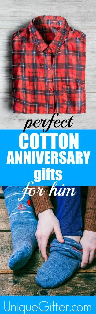 Perfect Cotton Anniversary Gifts for Him | Second Anniversary Gifts for Men | 2nd Anniversary Presents for Men | Gift Ideas for Husband for Anniversary | Traditional Anniversary Gifts