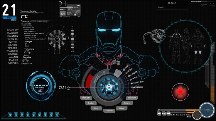 Iron Man Jarvis Live Wallpaper Images & Pictures - Becuo