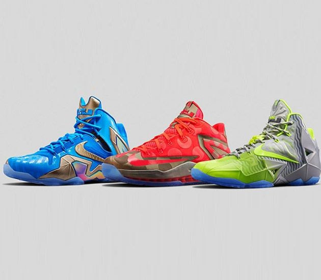 Nike LeBron 11 \u201eMaison\u201d Pack