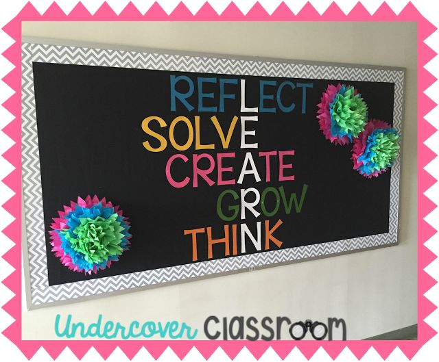 Undercover Classroom: Growth Mindset Bulletin Board