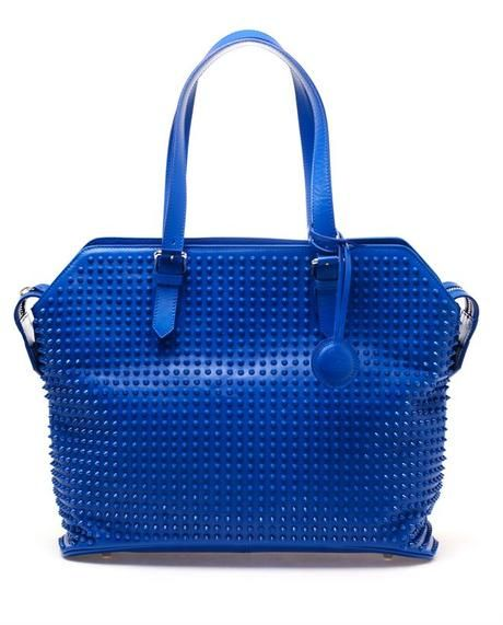 Christian Louboutin Syd Studded Leather Shopper Bag - Lyst