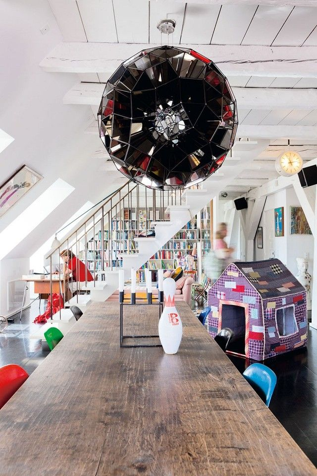 Tour a Whimsical and Modern Family Loft | MyDomaine