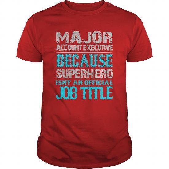 Major Account Executive Shirt #shirt collar #tshirt upcycle. GET  => https://www.sunfrog.com/Jobs/Major-Account-Executive-Shirt-Red-Guys.html?68278