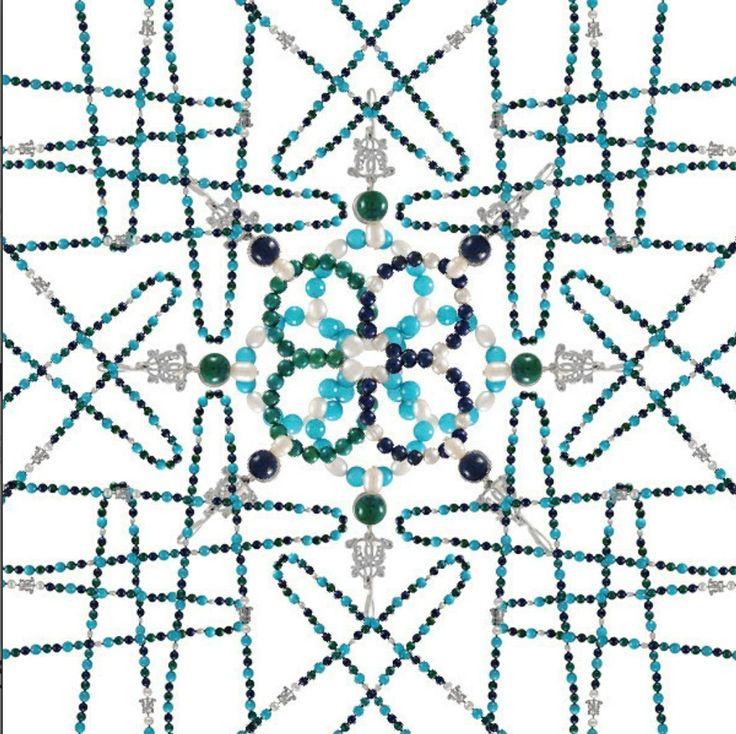 We are seeing all things blue and green in bowerhaus kaleidoscope .. @Bowerhaus #bowerhaus