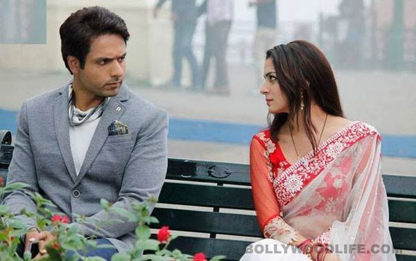 TUMHARI PAKHI:,,, SHRADDHA ARYA AND M IQBAL KHAN ( Anshuman Rathore)  LEADING TV SERIAL STAR*********SHRADDHA(PAKHI)SHOWN WITH AMAZING COMBO OF MAKEUP AND SARIS