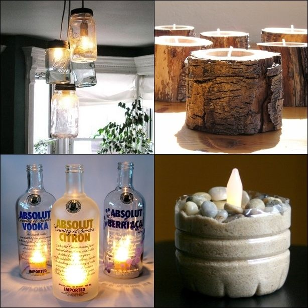 120 best images about recycled home decor on pinterest for Recycling ideas for home