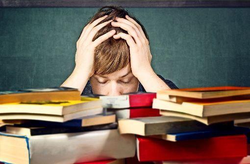 Etliche Schüler sind den Anforderungen, die an sie gestellt werden, nicht gewachsen. Das führt oft zu Frustrationen. Foto: lassedesignen/Adobe Stock