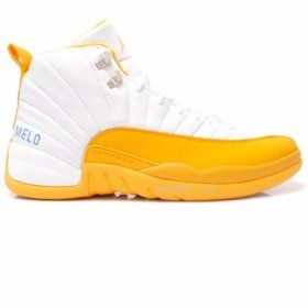 Nike Air Jordan XII Melo Carmelo Anthony Home PE JBM186-M21-C1 With 47% off Just Need $85.00  www.jordanpatros.com/