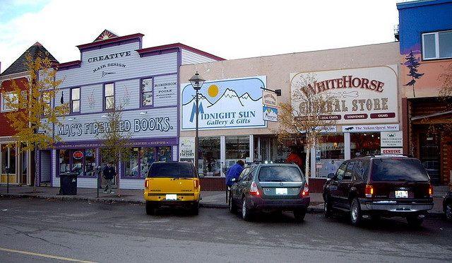 Downtown Whitehorse, The Yukon -26 Fun, Interesting and Useful Facts About Whitehorse, The Yukon