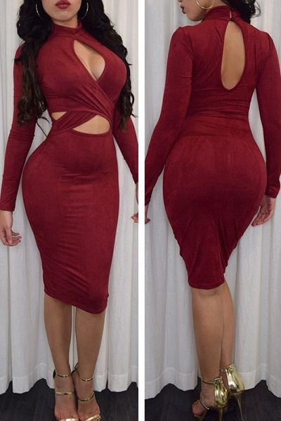 Red Cut out Long Sleeve Dress Faux Suede Midi Dress - See more at: http://sensuouslovelylingerie.com/product/red-cut-out-long-sleeve-dress-faux-suede-midi-dress/#sthash.fFOVZ0te.dpuf