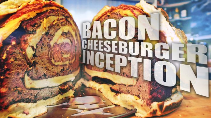 Bacon Cheeseburger Inception - Epic Meal Time